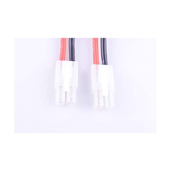 2PCS Hengfuntong-Elec EC3 Connector Female to Ultra Deans Male Adapter Cable with 14awg 40mm