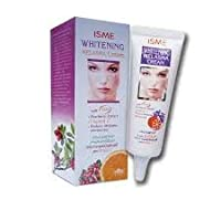 10g X 1pcs.ISME WHITENING ANTI MELASMA CREAM WITH BEARBERRY EXTRACT & VITAMIN C FOR FACIAL WHITENING