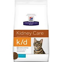 HILL'S PRESCRIPTION DIET k/d Kidney Care Ocean Fish Dry Cat Food, 8.5 lb Bag