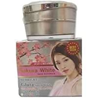 Sakura White Gluta speed Whitening sun protection UVA UVB SPF 50 PA ++ 15 g. Silk Sunscreen