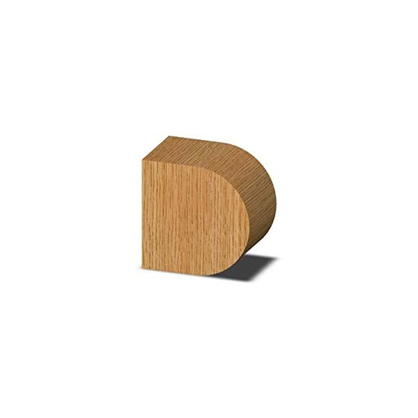 Whiteside Router Bits 1434A Half Round Bit with 9//16-Inch Radius and 1-1//2-Inch Cutting Length