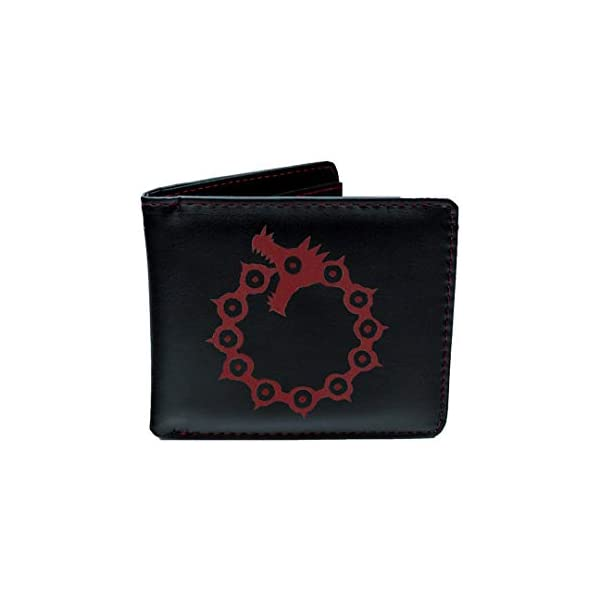 Wallet and Keychain Gift Set THE SEVEN DEADLY SINS