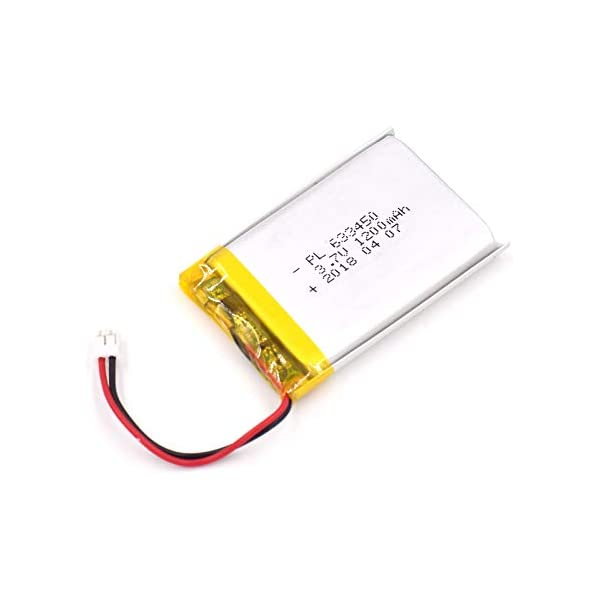 Battery Packs Lithium Ion Battery 3.7v 2000mAh Not Compatible with PS4 Controller