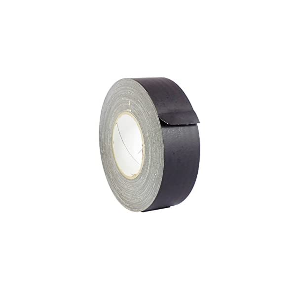 Available in Multiple Colors 4 in Better Than Duct Tape Tape Providers Non Reflective Residue Free MAT Gaffer Tape White Low Gloss Finish Film x 60 Yards