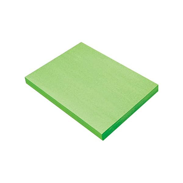 12 x 18 Holiday Green 100 Sheets SunWorks Construction Paper
