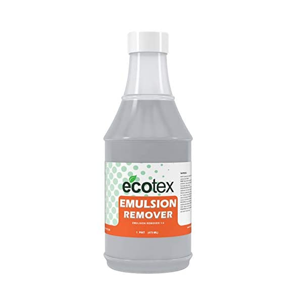 Ecotex All Purpose Chemistry Kit for Screen Printing Plastisol Includes Emulsion Remover Ghost Remover//Degreaser Screen Cleaner Hand Cleaner