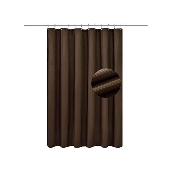Kenney Tension Shower Curtain Rod Chocolate 36 to 63-Inch