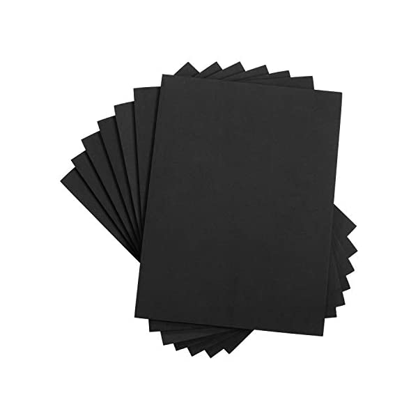 Darice Foamies Extra Thick Foam Sheet Black 6mm thick 9 X 12 Inches