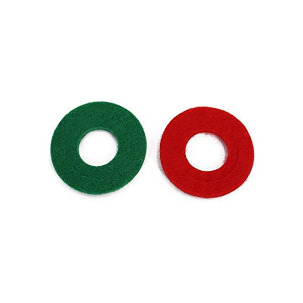 8 Red and 8 Green UTSAUTO Battery Terminal Anti Corrosion Washers Fiber 16 Pieces Battery Terminal Protector