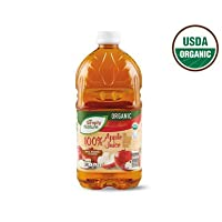 Simply Nature Organic 100% Juice + Vitamin C from Concentrate Apple Juice - 64 oz