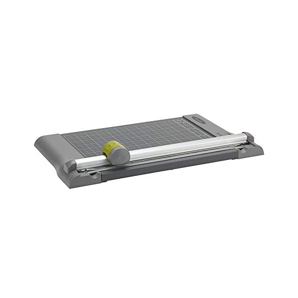 Metal Base 12 x 11 Carl 12200 Bidex Professional 10-Sheet Rotary Trimmer