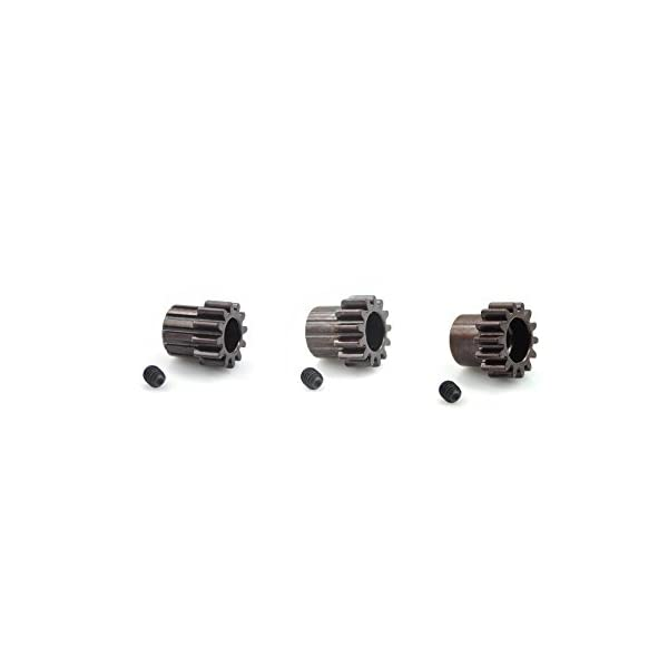 5mm Bore Mod 1.0 Hardcoated Spring Steel 15T Mod1 Pinion Gear Tekno Associated Losi TLR