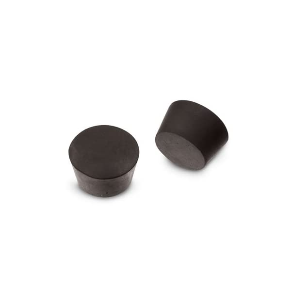 Pack of 3 Size #7 - Karter Scientific 216R2 Rubber Stoppers