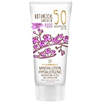 Australian Gold Botanical Sunscreen Mineral Lotion for Kids SPF 50, 5 Ounce   Broad Spectrum   Water Resistant