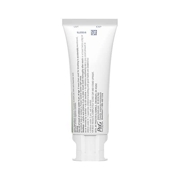 Crest 3D White Whitening Therapy Toothpaste, Spearmint Oil, 4.1 Ounce, Pack of 3