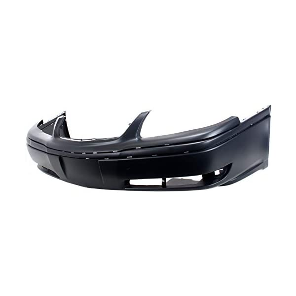 Front Bumper Cover Compatible with 2000-2005 Chevrolet Impala Primed with Fog Light Holes LS Model