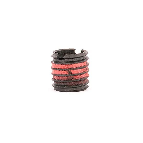 E-Z Lok Externally Threaded Insert C12L14 Carbon Steel 5//16-24 Internal Threads 0.484 Length 1//2-13 External Threads Pack of 10 Meets AISI 12L14 Made in US