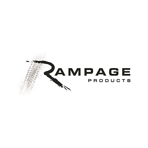 RAMPAGE PRODUCTS 7699 Stainless Complete Hood Kit for 1978-1995 Jeep CJ /& Wrangler YJ 7499