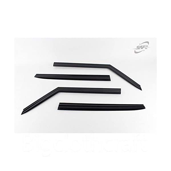 Cobra Tuning K13913 Vent Visor Window Deflectors 4-pcs Compatible with Kia Soul