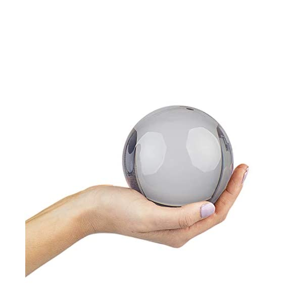 Rock Ridge 76mm Clear Acrylic Juggling Ball for Contact Juggling Great for Beginners and Professionals