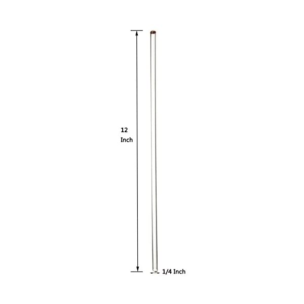 Glass Stirring Rod 12 Long Pk//6 1//4 Diameter
