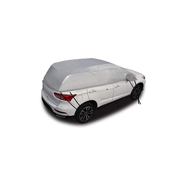 Trunk Ice Van SUV Sun Protector Double Side Design Exterior Waterproof Fits Most Cars Snow 80x 59 Frost SUAOKI Windshield Snow Cover Car Windshield Guard