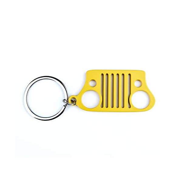 Bend or Break EVAPLUS Key Chain with 2 Extra Key Rings Car Keychain for Men and Women Will Never Rust