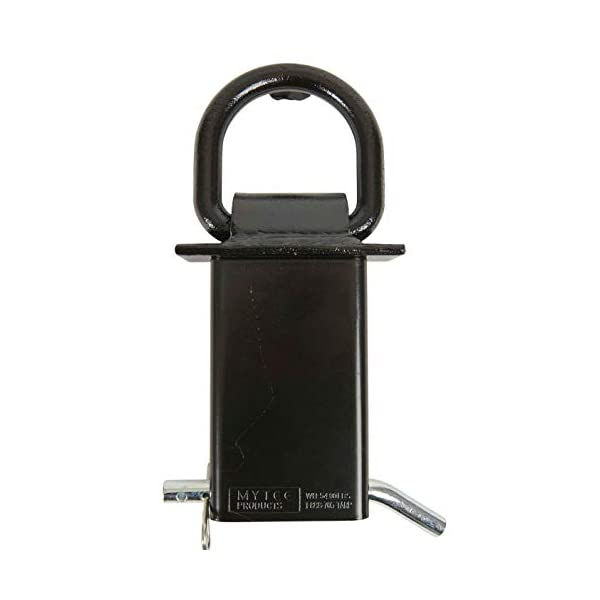Keeper 24 x 3,333lbs//61cm x 1,512kg Premium Axle Strap with D-Ring
