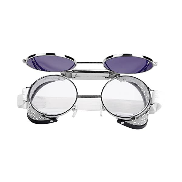 Flip-up Front Safety Welding Goggle Working Protective Goggles Double Eye Protection for Welding Soldering Torching Brazing Metal Cutting
