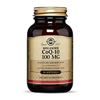 Solgar Megasorb CoQ-10 100 mg, 90 Softgels - Supports Heart Function & Healthy Aging - Coenzyme Q10 Supplement - Enhanced Absorption - Non-GMO, Gluten Free, Dairy Free - 90 Servings