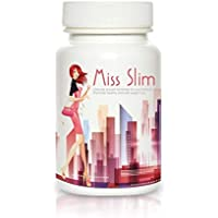 Slim Pretty 30days Weight Loss Pills – Clinically Proven Fast Fat Binder – Extreme Potency Diet Pill by Miss Slim 30 Veggie Cap