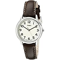 Timex Women's TW2P595009J Main Street Stainless Steel Watch with Brown Leather Band