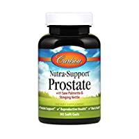 Carlson - Nutra-Support Prostate, with Saw Palmetto & Stinging Nettle, Prostate Support, Reproductive Health & Men's Health, 90 Softgels