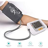 ZYK Wrist Digital Blood Pressure Monitor Automatic Tonometer Meter Charge Wrist LCD Display Voice Heart Rate Monitor Best Gifts for Parents