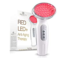 Project E Beauty RED Light Therapy Machine | Wireless Photon Collagen Boost 630nm Skin Rejuvenation Anti Aging Firming Lifting Tightening Toning Wrinkles Fine Lines Removal Rechargeable Handheld