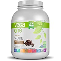 Vega All-In-One Nutritional Shake Chocolate, XL, (44 Servings) - Plant Based Vegan Protein Powder, Non Dairy, Gluten Free, Non GMO, 71.5 Ounce (Pack of 1)