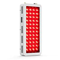 Bestqool Red Light Therapy Device - 660&850nm Near Infrared Led Light Therapy, 100 LEDs, High Irradiance Red Light Therapy Lamp with Timer for Joint and Muscle Pain Relief, Anti-Aging