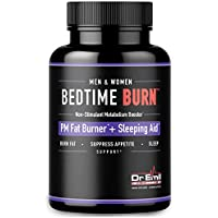 Dr. Emil - PM Fat Burner, Sleep Aid and Night Time Appetite Suppressant - Stimulant-Free Weight Loss Pills and Metabolism Booster for Men and Women (60 Vegan Diet Pills)