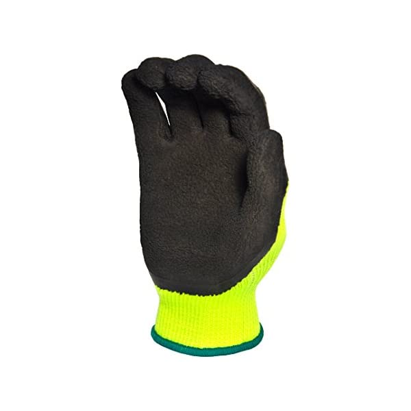 Small G /& F Products 1516S-6 Gardening Gloves Green//Black