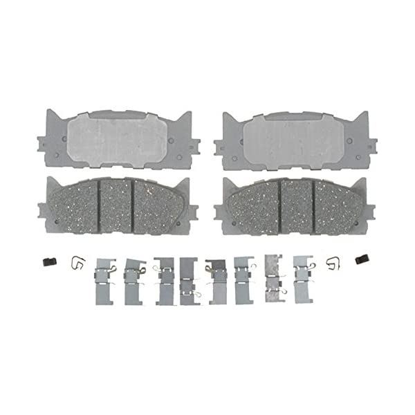 ACDelco 14D749CH Advantage Ceramic Front Disc Brake Pad Set with Hardware