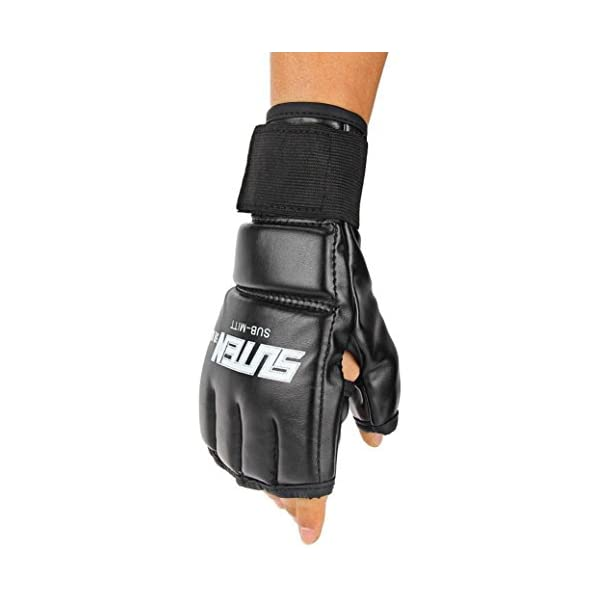 Boxing-Gloves-Muay-Thai-Training-Punching-Bag-Sparring-Gloves-MMA-UFC