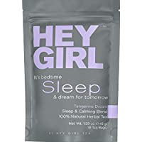 Sleep Aid - Sleep Tea with Natural Valerian Root, Herbal Chamomile & Lemon Balm | Promotes Relaxation, Aids Anxiety, Insomnia & Stress Relief - Restful Sleep : The Best Tea Gifts for Women