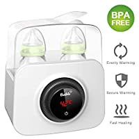 Bable Bottle Warmer, Multipurpose Baby Bottle Warmer with LCD-Display and Accurate Temperature Control