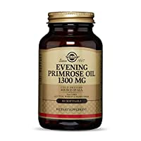 Solgar Evening Primrose Oil 1300 mg, 60 Softgels - Promotes Healthy Skin & Cardiovascular Health - Nutritional Support for Women - Non-GMO, Gluten Free, Dairy Free - 60 Servings