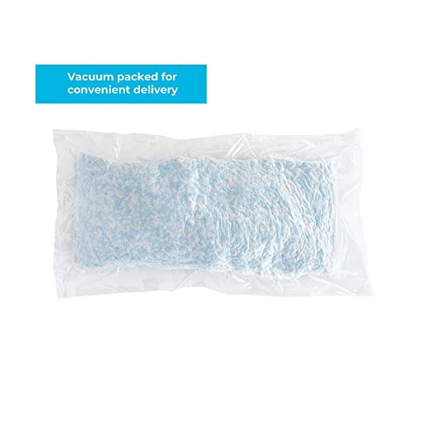 Stuffed Animals and Crafts Replacement Fill for Pillows Premium All White Craft Foam Linenspa Premium Shredded Memory Foam Bean Bags Dog Beds Chairs