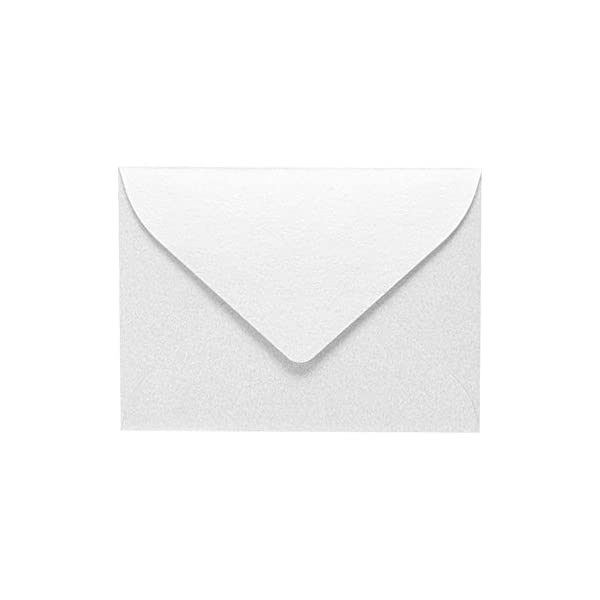 Bright White for 2 9//16 x 3 9//16 Cards Envelope Size 2 11//16 x 3 11//16 50 Pack LUXPaper #17 Mini Envelopes in 70 lb Printable Envelopes for Gift Cards and Thank You/'s w//Moistenable Glue White