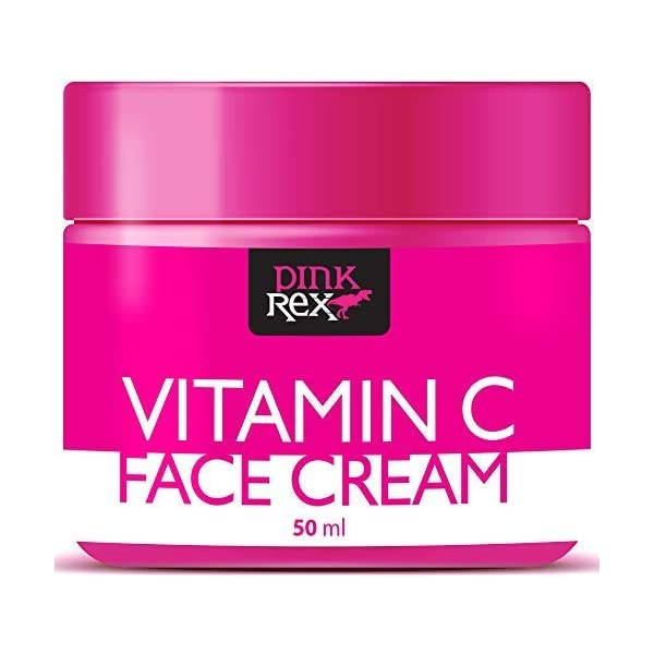 Vitamin C Face Cream. Wonderful for Skin & Face, Reduces Fine Lines & Wrinkles. This Powerful Cream is also a Marvelous Moisturizer and Stunning Dark Spot Removal. Handmade in the USA