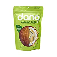 Dang Toasted Coconut Chips | Original | 1 Pack | Vegan, Gluten Free, Non GMO, Healthy Snacks Made with Whole Foods | 3.17 Oz Resealable Bag