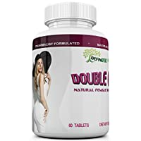Double Curves, The Natural Female Butt Enlargement Formula That Adds More Size and Curves to Your Booty. Buttocks Enhancing Pills. 1 Month Supply.