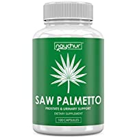 Saw Palmetto Prostate Supplements for Men Women - DHT Blocker Pills Prostate Health Support Mens Health - Saw Palmetto Extract Berries for Bladder Control Frequent Urination Hair Loss - Non GMO Caps